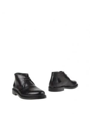 Полусапоги и высокие ботинки ANDREA VENTURA FIRENZE. Цвет: темно-коричневый