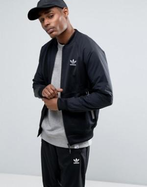 Adidas Originals Спортивная куртка. Цвет: черный