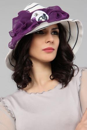 Шляпа LakMiss. Цвет: белый