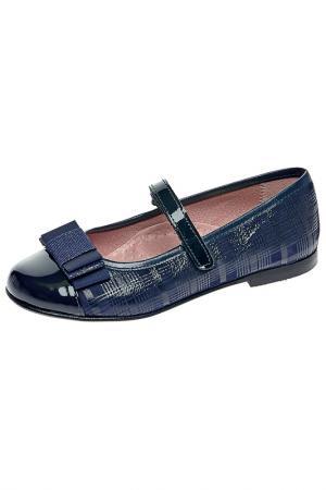Туфли детские TNY. Цвет: синий