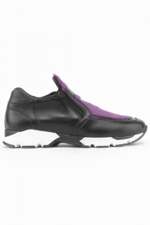 Кроссовки Bouton. Цвет: черный, фиолетовый