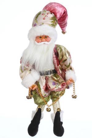 Эльф Санта музыкальный, 32 см Davana. Цвет: зеленый