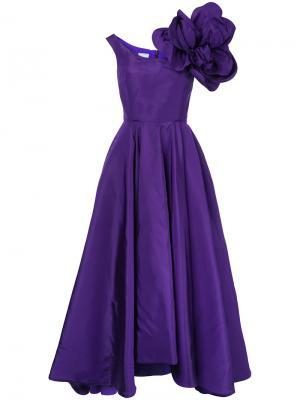Вечернее платье Cinderella Bambah. Цвет: розовый и фиолетовый