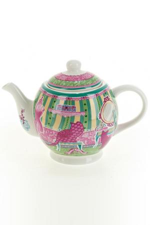Чайник заварочный, 1120 мл Nouvelle. Цвет: зеленый, розовый, желтый