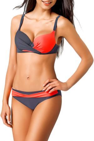 Swimwear GWINNER. Цвет: gray and coral
