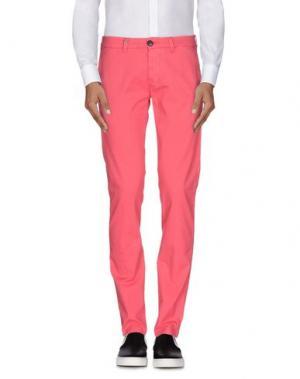 Повседневные брюки DW⁵. Цвет: коралловый