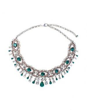 Ожерелье SHOUROUK. Цвет: зеленый