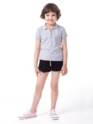 Рубашка-поло VILATTE. Цвет: серый