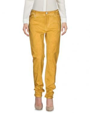 Повседневные брюки LEROCK. Цвет: верблюжий