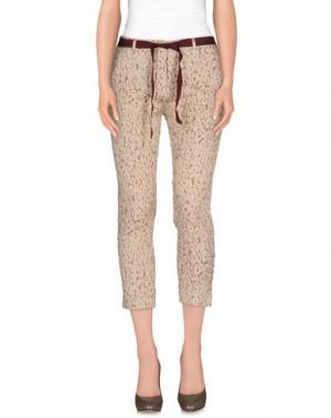 Повседневные брюки SO NICE. Цвет: бежевый
