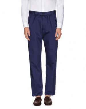 Повседневные брюки COVERT. Цвет: темно-синий