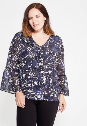 Блуза Fiorella Rubino. Цвет: синий