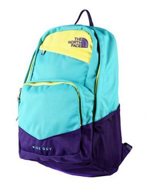 Рюкзаки и сумки на пояс THE NORTH FACE. Цвет: бирюзовый