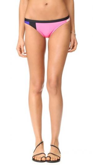 Классические плавки бикини Limelight Kate Spade New York. Цвет: черный мульти