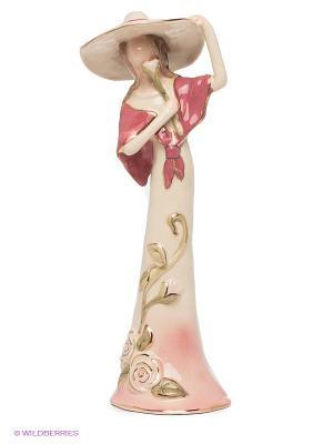 Статуэтка Леди Роуз Blue Sky. Цвет: розовый, бежевый