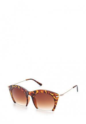 Очки солнцезащитные Noryalli. Цвет: коричневый
