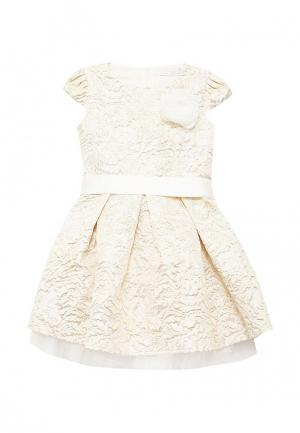 Платье Letty. Цвет: бежевый