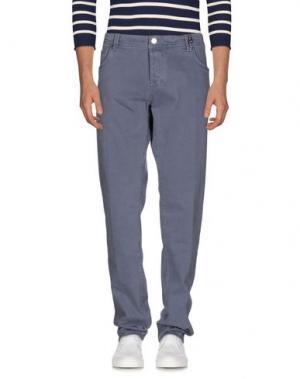 Джинсовые брюки TRAMAROSSA. Цвет: грифельно-синий