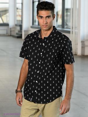 Рубашка LRG. Цвет: черный