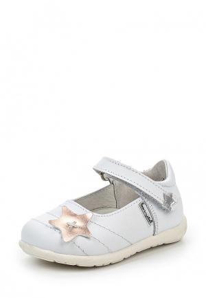 Туфли Barritos. Цвет: белый
