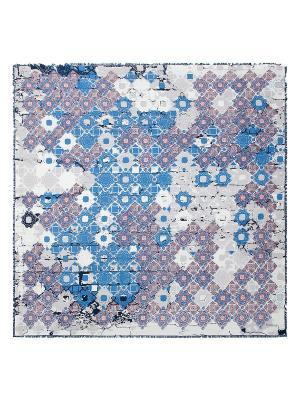 Платок Eleganzza. Цвет: голубой, молочный, светло-серый