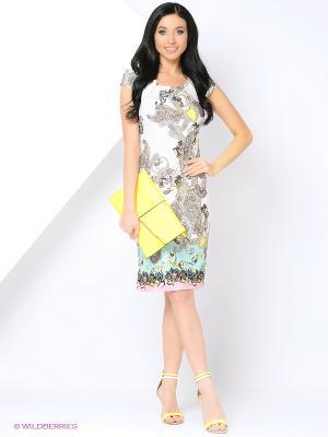 Платье Cariba. Цвет: светло-зеленый