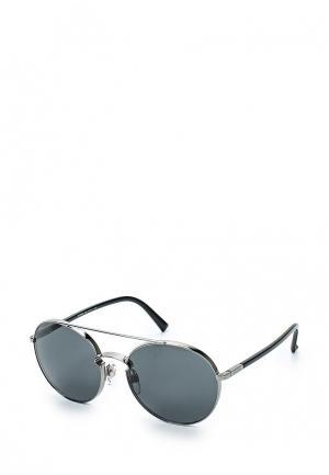 Очки солнцезащитные Valentino. Цвет: серебряный