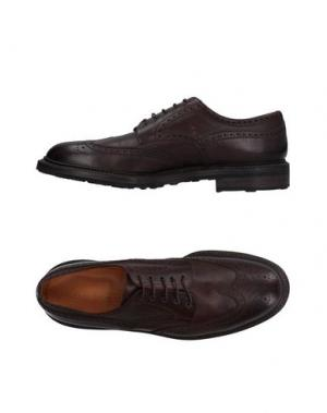 Обувь на шнурках REGAIN. Цвет: темно-коричневый