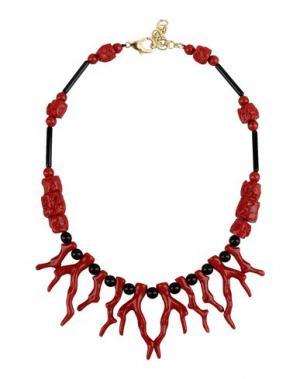 Ожерелье DETTAGLI. Цвет: красный