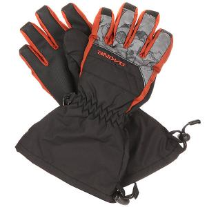 Перчатки сноубордические детские  Yukon Glove Northwoods Dakine. Цвет: серый,оранжевый,черный