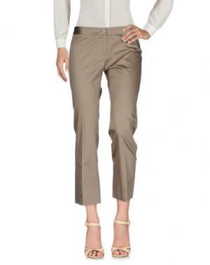 Повседневные брюки MÊME by GIAB'S. Цвет: хаки