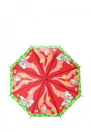 Зонт-трость Modis. Цвет: красный