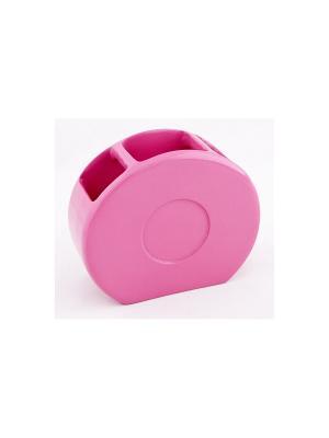 Подставка для зубных щеток XVIBPK001R Vibes Blonder Home. Цвет: розовый