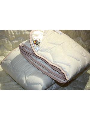 Одеяло Евро облегченное BegAl. Цвет: бежевый