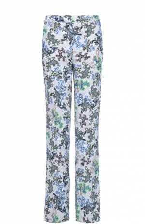 Расклешенные брюки со стрелками и ярким принтом Dorothee Schumacher. Цвет: разноцветный