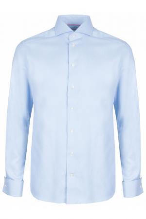 Рубашка ETON. Цвет: голубой