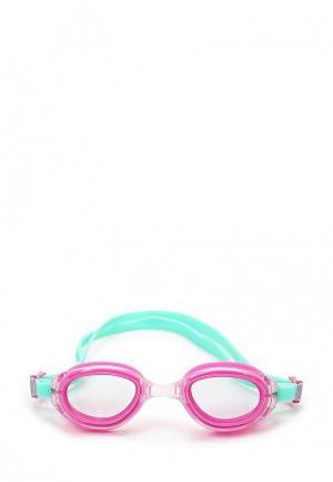 Очки для плавания TYR. Цвет: розовый