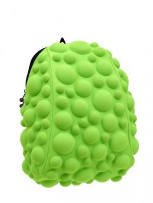 Рюкзак Bubble Half, цвет NEON лайм MadPax. Цвет: зеленый