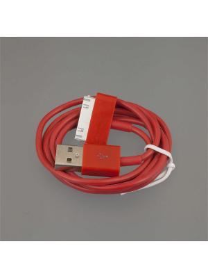 Usb кабель Pro Legend Iphone 4, 30 pin, 1м, красный. Цвет: красный