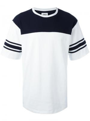 Футболка Athletic Edwin. Цвет: белый