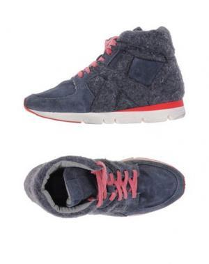 Высокие кеды и кроссовки O.X.S.. Цвет: стальной серый