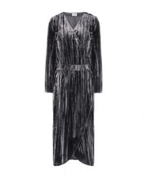 Платье длиной 3/4 TWIST & TANGO. Цвет: серый