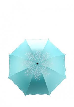 Зонт складной Modis. Цвет: бирюзовый