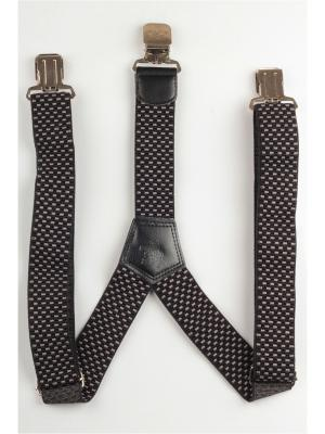 Подтяжки джинсовые INDIVIDUUM. Цвет: черный, серый