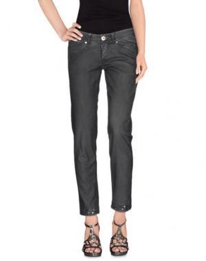Джинсовые брюки LE JEAN DE MARITHÉ + FRANÇOIS GIRBAUD. Цвет: свинцово-серый