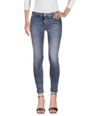 Джинсовые брюки KI6? WHO ARE YOU?. Цвет: серый