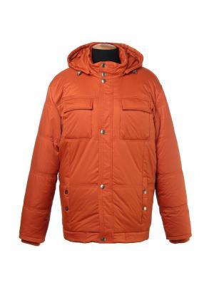 Куртка City Classic. Цвет: оранжевый