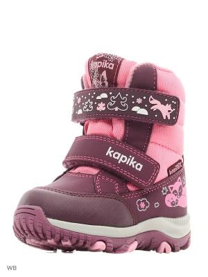 Ботинки Kapika. Цвет: фуксия, розовый