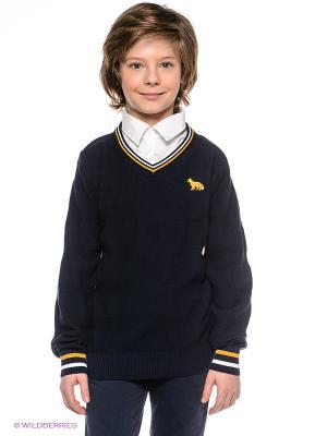 Пуловер NAME IT. Цвет: темно-синий, белый