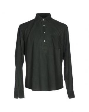 Pубашка SALVATORE PICCOLO. Цвет: зеленый-милитари
